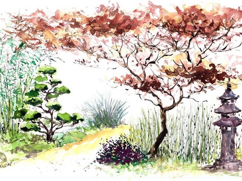 Jardin zen japonais d 39 inspiration asiatique esprit for Le jardin zen lagnieu