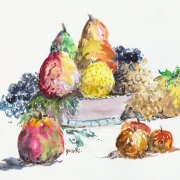 Un verger, un fruitier