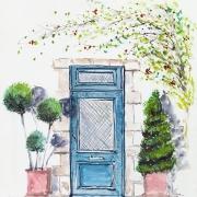 Une entrée de maison