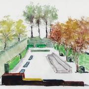 Le jardin moderne, contemporain